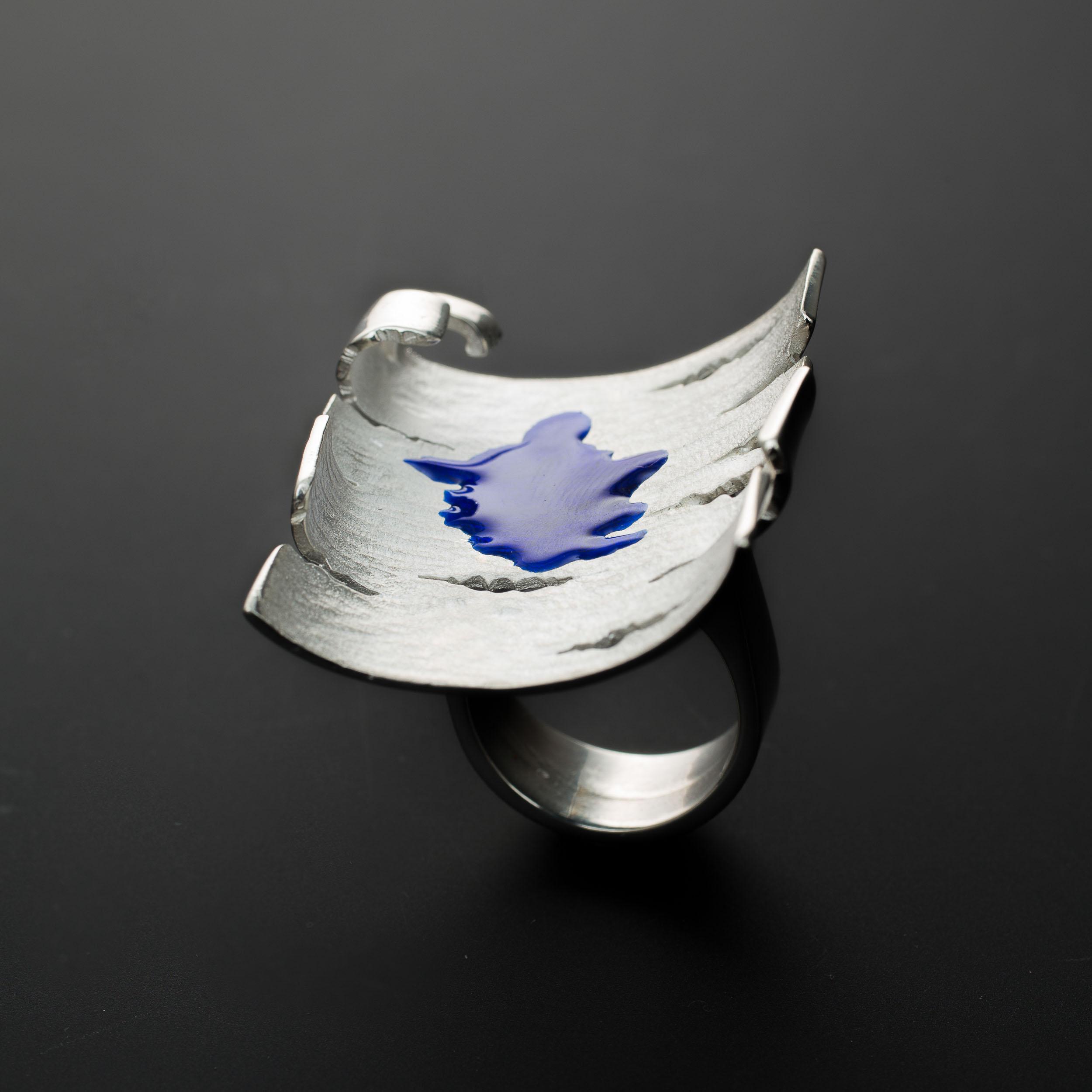 gastini betulla blu anello (2 di 2)